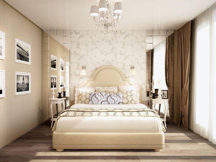Дизайн интерьера маленькой спальни 12 кв м: 20 фото примеров