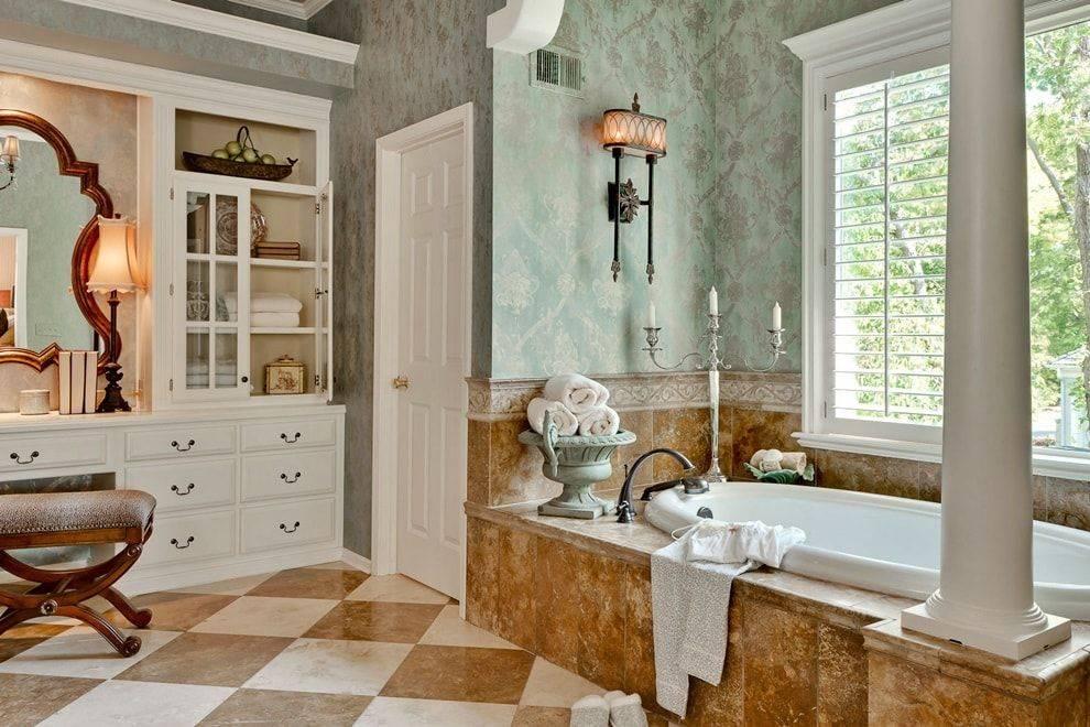 Красивая ванная: стильные примеры оформления и украшения ванной. 140 фото лучших вариантов дизайна
