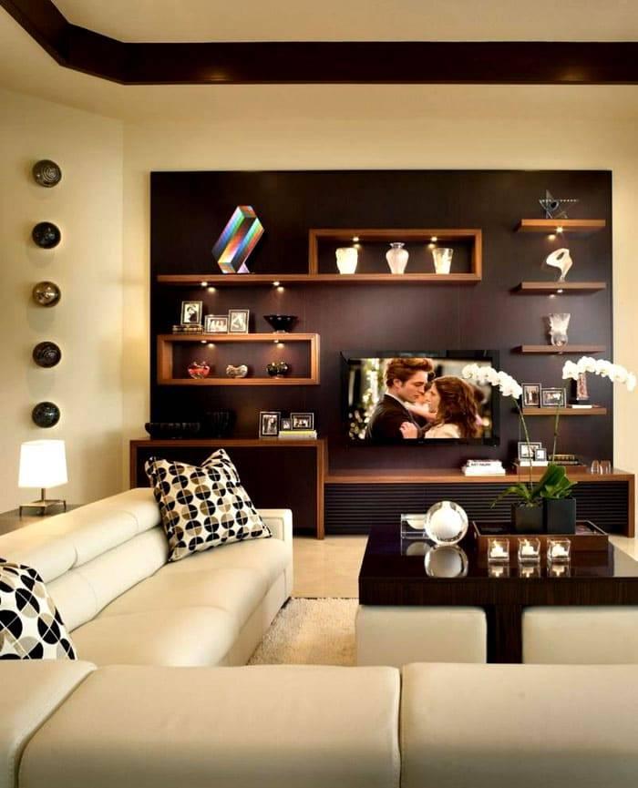 Гостиная в частном доме: советы по оформлению комнаты (70 фото)