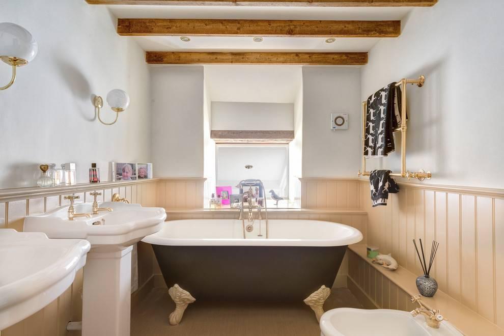 Потолок в ванной комнате: отделка, выбор материала и идеи дизайна (45 фото)   дизайн и интерьер ванной комнаты