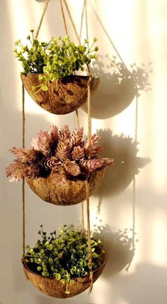 Кашпо и вазоны для сада своими руками: пошаговая инструкция с фото