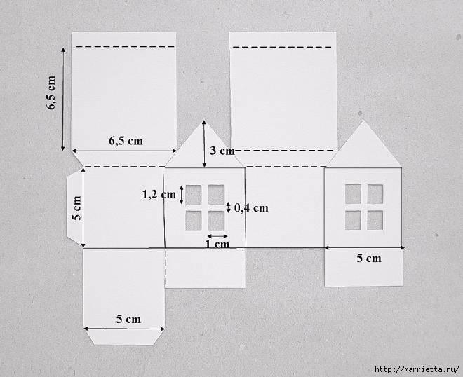 Домик из картона для поделки: как сделать дом из бумаги своими руками детям пошагово? осенний бумажный домик в детский сад и в школу