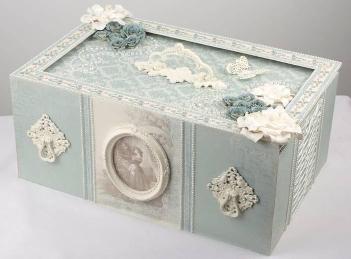Декор коробки своими руками - фото идеи