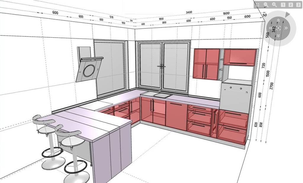 Как придумать дизайн кухонного гарнитура — основные правила и принципы планировки кухонь