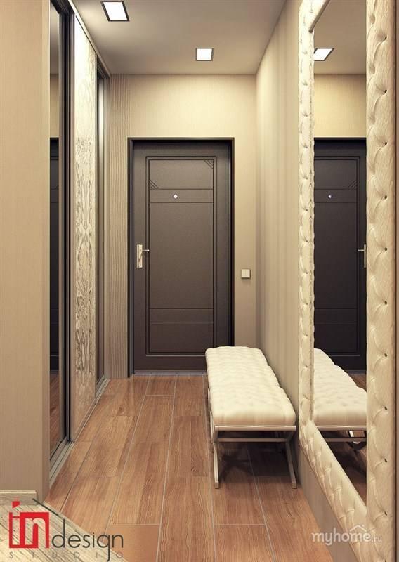 Дизайн коридора в панельном доме: фото