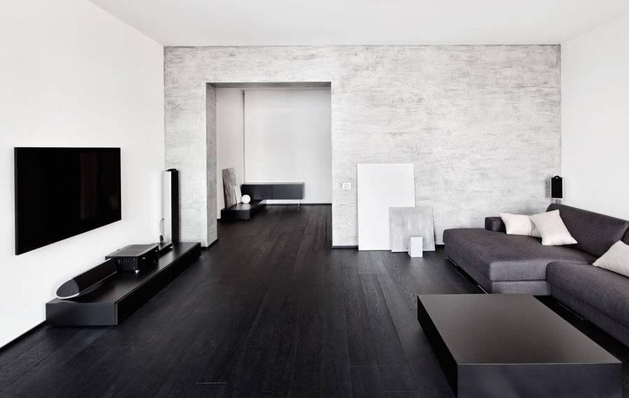 Темный пол в гостиной - 84 фото лучших идей красивого интерьера!дизайн гостиной