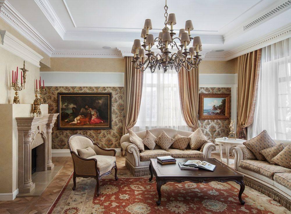 Стили в дизайне гостиной: 180+ (фото) красивых интерьеров