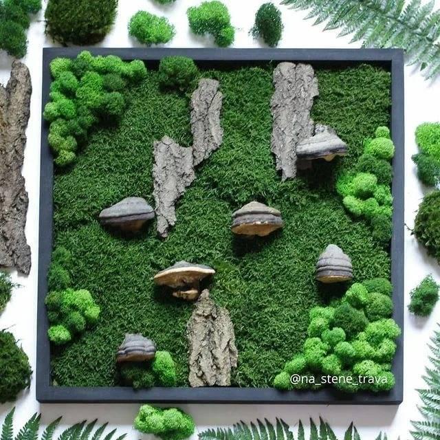Картины из природных материалов своими руками