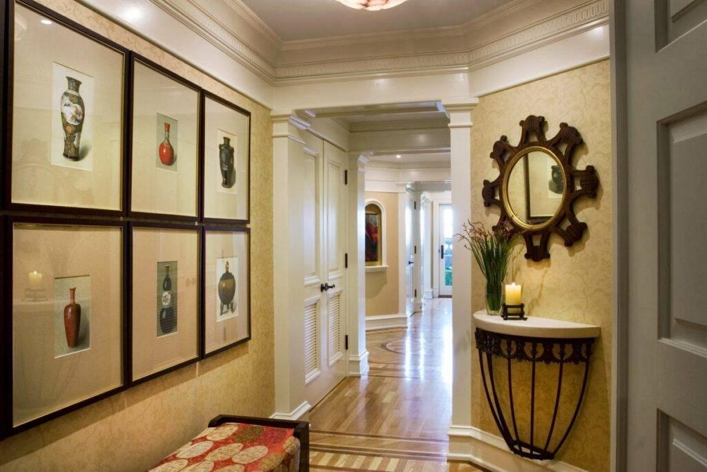 Особенности выбора декоративной штукатурки для внутренней отделки в коридоре