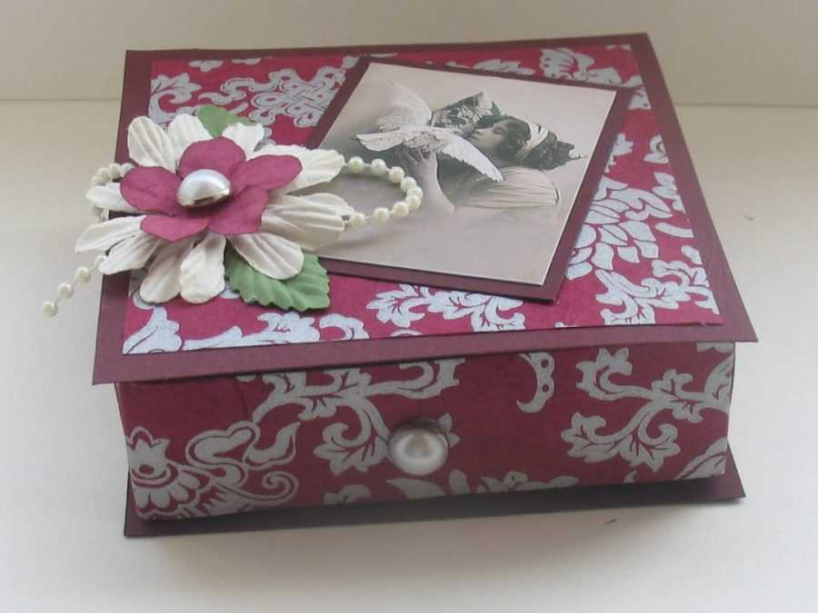 Коробка своими руками: описание процесса создания коробки для подарка и хранения вещей