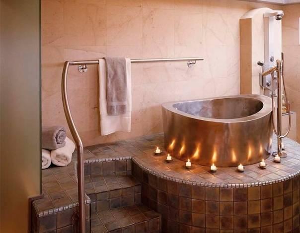 Офуро: описание японской бани-ванны, влияние водяной бани в бочке на организм, история купели