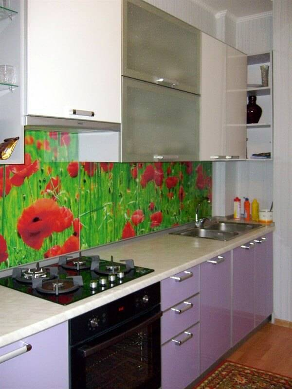 Фартук для кухни из мдф (33 фото): размеры стеновых панелей для скинали, толщина глянцевых плиток, отзывы