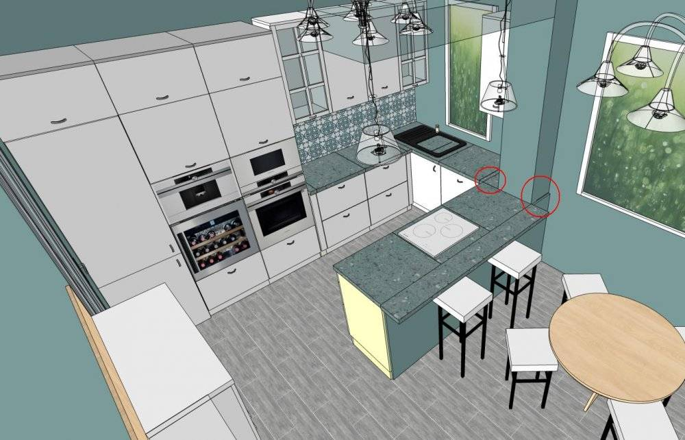 Кухня 6 кв. м.: 130 фото рекомендованных стилей и сочетаний в дизайне