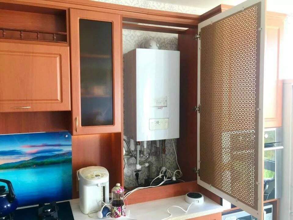 Кухни с котлом индивидуального отопления фото дизайна интерьера