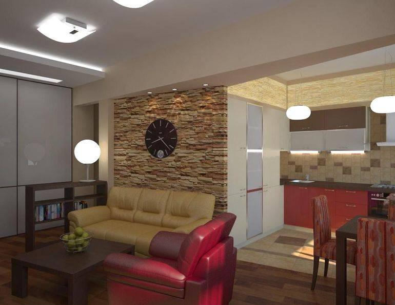 Зонирование гостиной и спальни: 160 фото идей планировки и грамотного разделения пространства