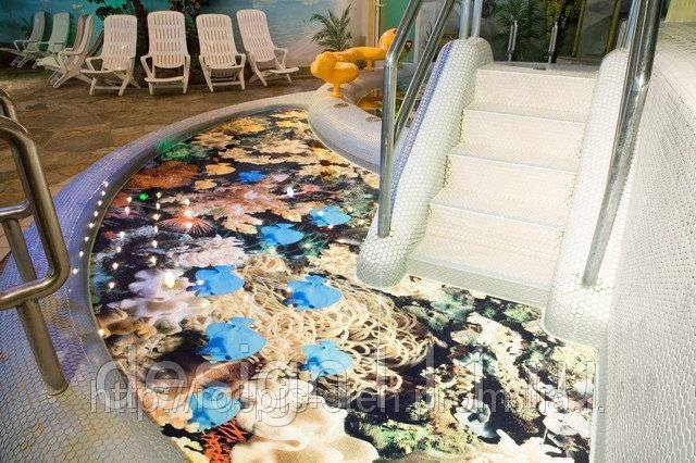 Наливной пол с рисунком - разновидности и технология заливки своими руками
