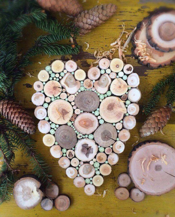 Поделки из спилов своими руками: учимся работать с деревом в домашних условиях, 130 фото идей + схемы