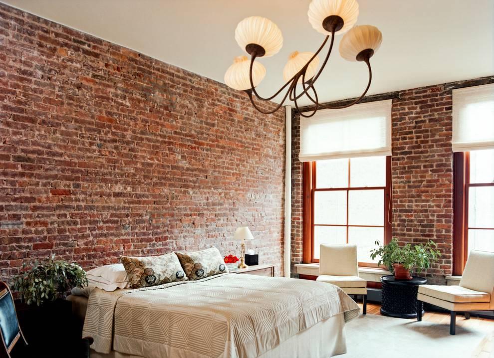 Белая кирпичная стена в интерьере: создание и оформление
