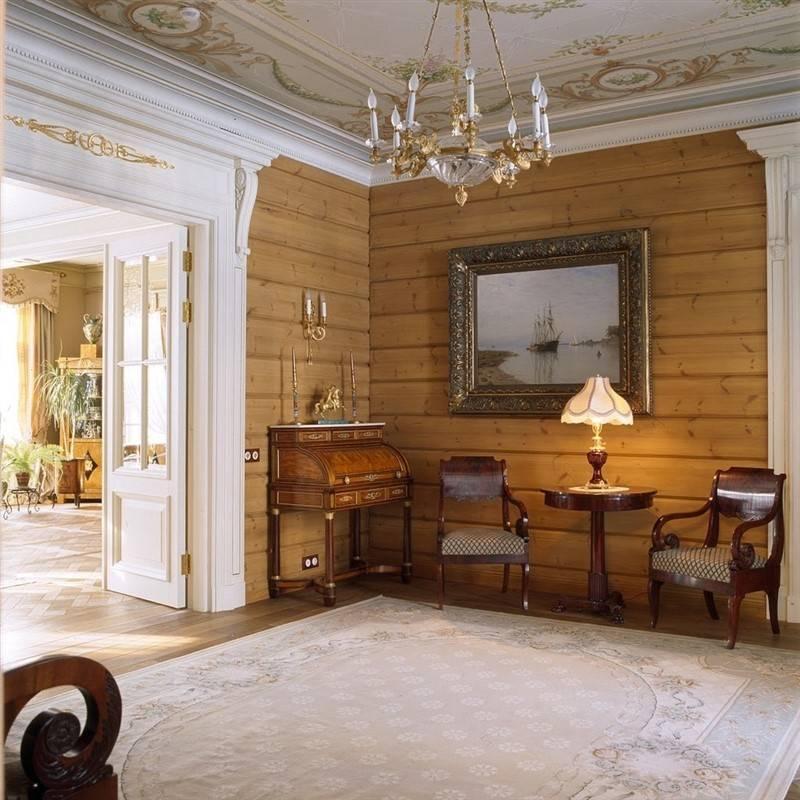 Современный русский стиль в интерьере дома / квартиры > 40 фото-идей русского дизайна интерьера