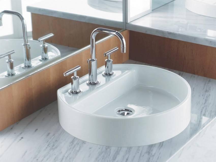 Подвесная раковина в ванную комнату - особенности, топ-8 лучших моделей