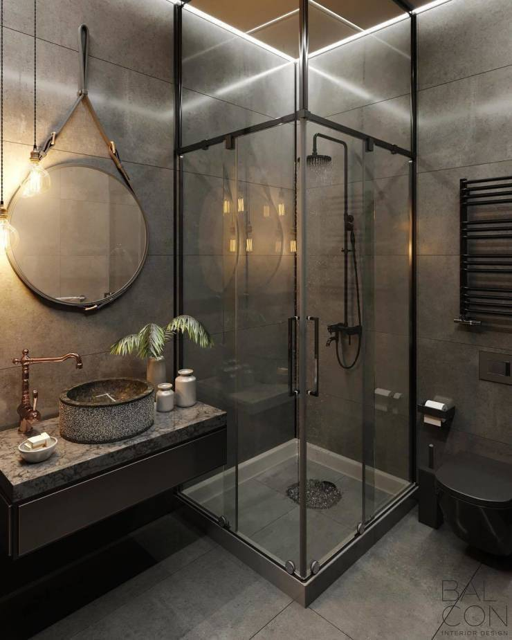 Душевая кабина в маленькой ванной комнате: фото и советы дизайнеров