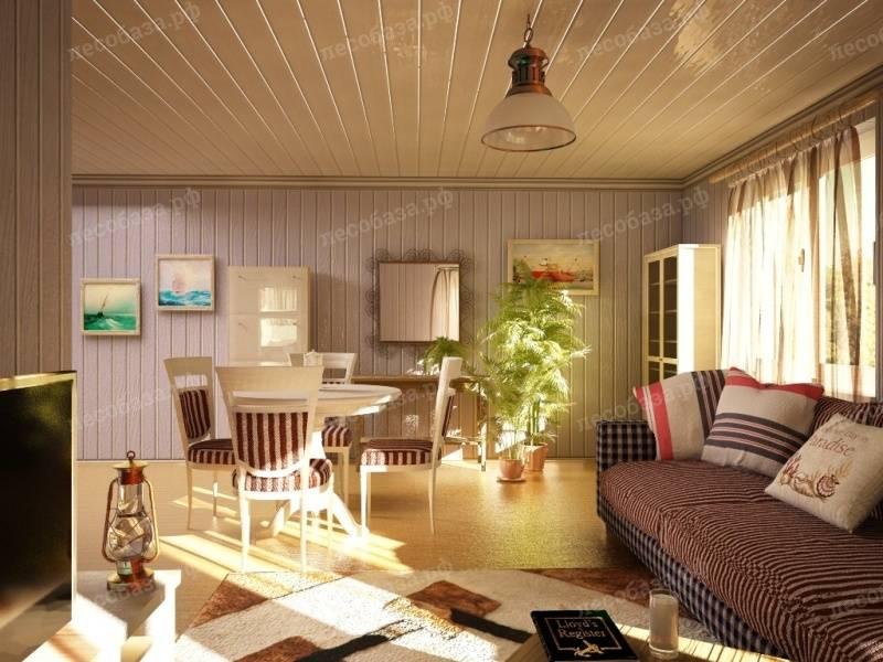 Вагонка в интерьере дома. фото отделки вагонкой дизайна интерьера