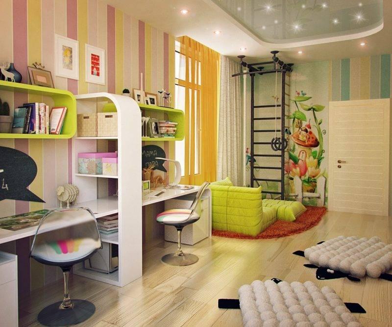 Варианты и примеры дизайна детских комнат после ремонта