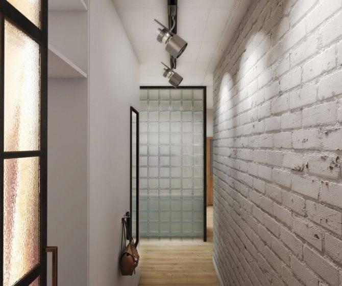 Прихожая в стиле лофт - 55 фото в интерьере квартиры и дома