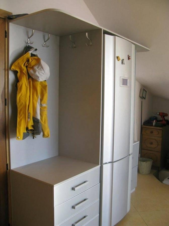 Как в комнате замаскировать холодильник: как спрятать холодильник: 8 гениальных идей —