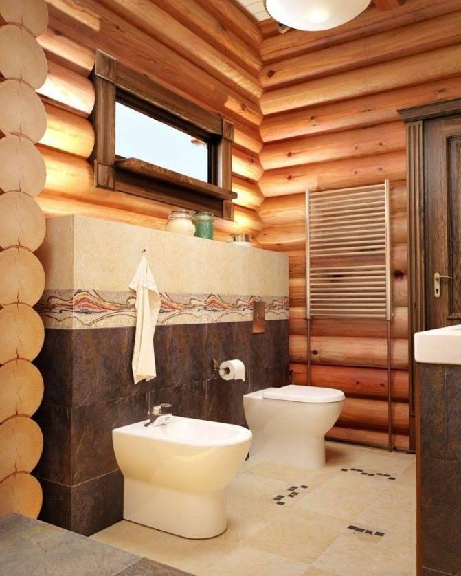 Ванная комната в деревянном доме (97 фото): дизайн и отделка душевой в доме из бруса, интересные решения для интерьера, варианты обустройства