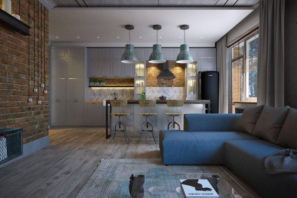 Дизайн гостиной 30 кв. м.: 50 фото интерьеров, как обставить зал