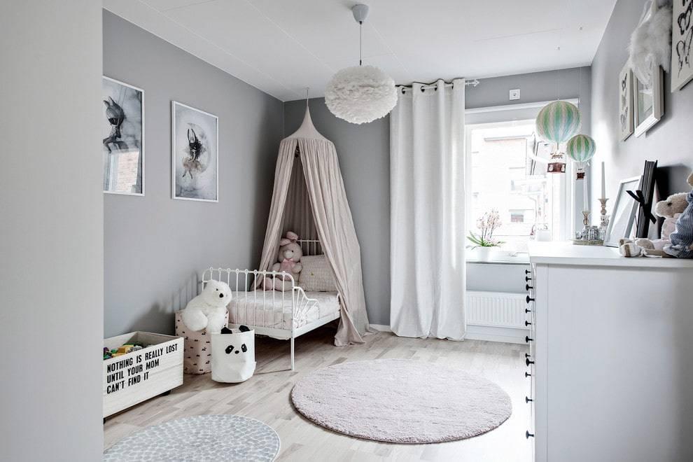 Детская комната для новорожденного: фото интерьера детской для девочки и мальчика