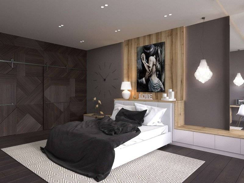 Дизайн спальни 12 м2: советы по оформлению (85 фото)