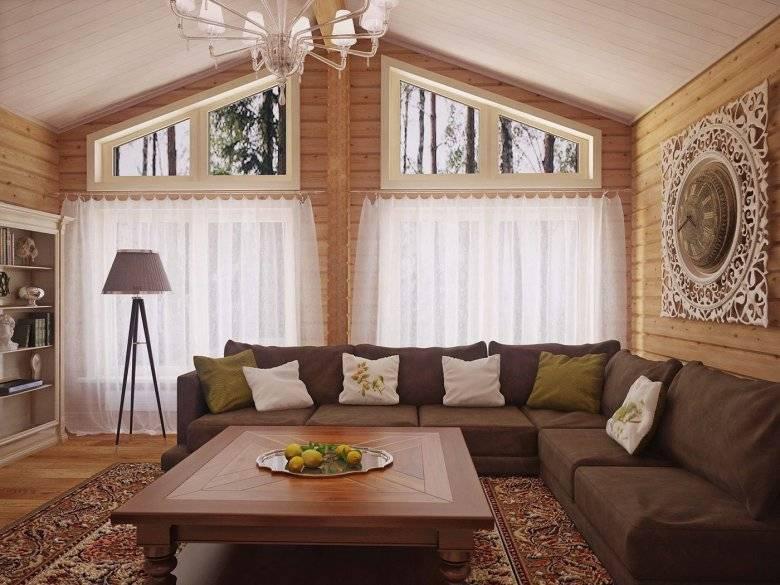 Гостиная в деревянном доме - 88 фото лучших современных идей интерьерадизайн гостиной