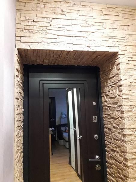 Отделка откосов входной двери изнутри квартиры: чем ее выполнить и как сделать ее своими руками