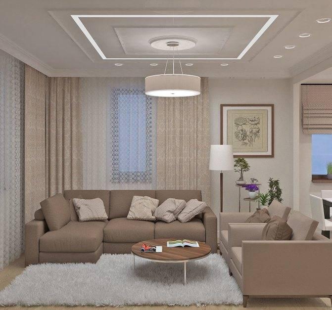 Дизайн гостиной, оформление, интересные идеи - фото примеров.