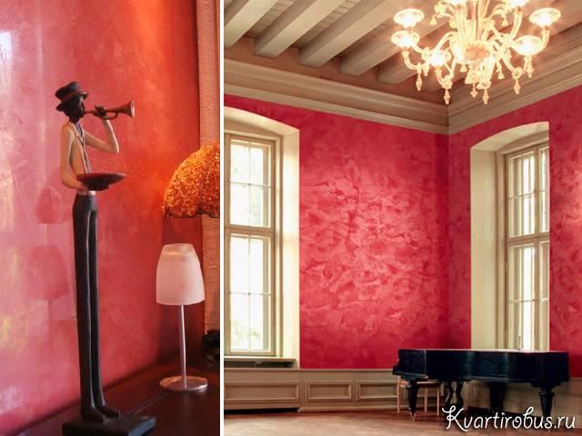 Орнамент на стене, разновидности декоративных шаблонов, тонкости нанесения трафарета - 21 фото
