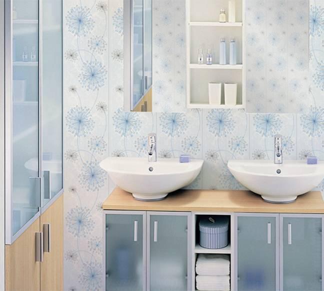 Пластиковые панели в оформлении ванной комнаты: фото, идеи дизайна