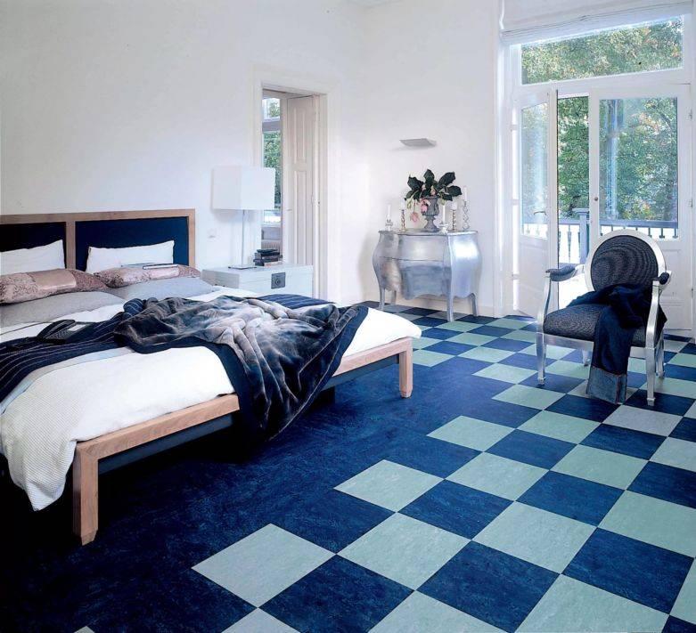 Как выбрать линолеум в спальню: 4 краеугольных камня в дизайне и функциональности