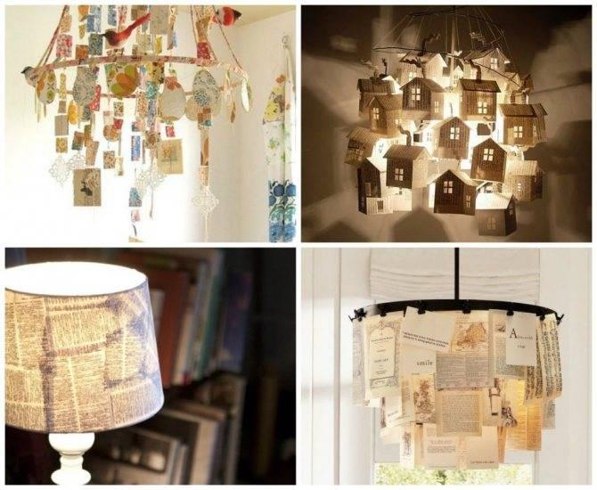 Абажур для настольной лампы своими руками из ткани, бисера, бумаги, пластиковых ложек и лент (89 фото идей)