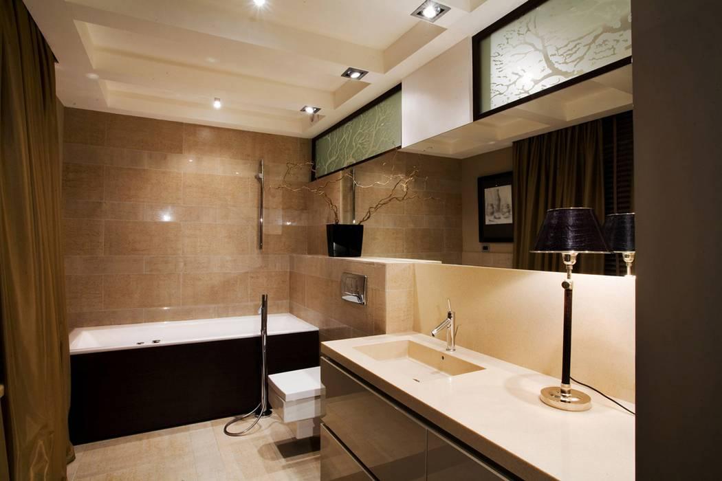 Коричневая ванная комната, бежево-коричневые тона и другие сочетания (43 фото)
