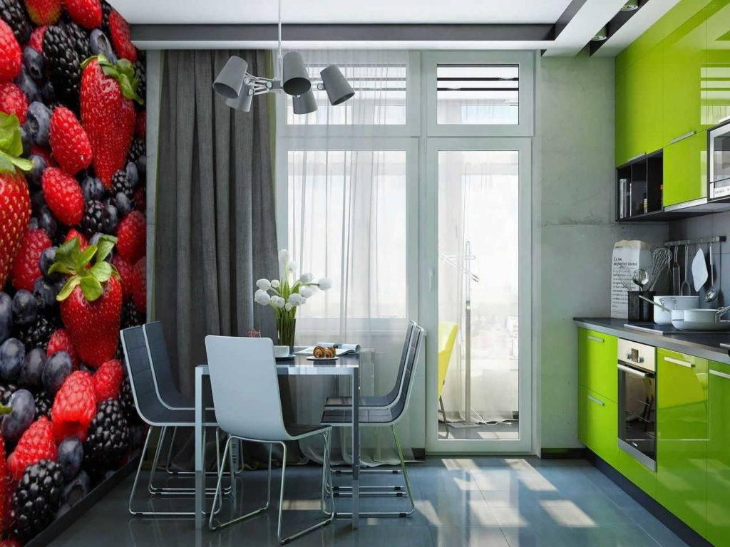 Обои для маленькой кухни: какой рисунок выбрать (примеры 2019 года)