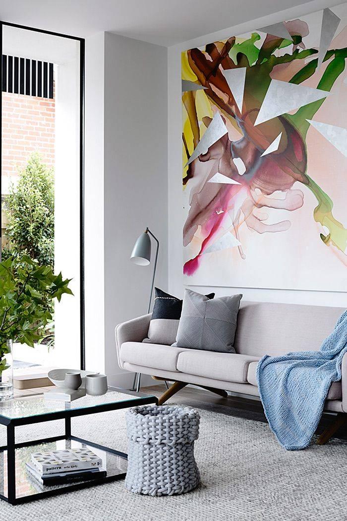 Рисунки на стенах – 75 фото лучших идей для современной квартиры
