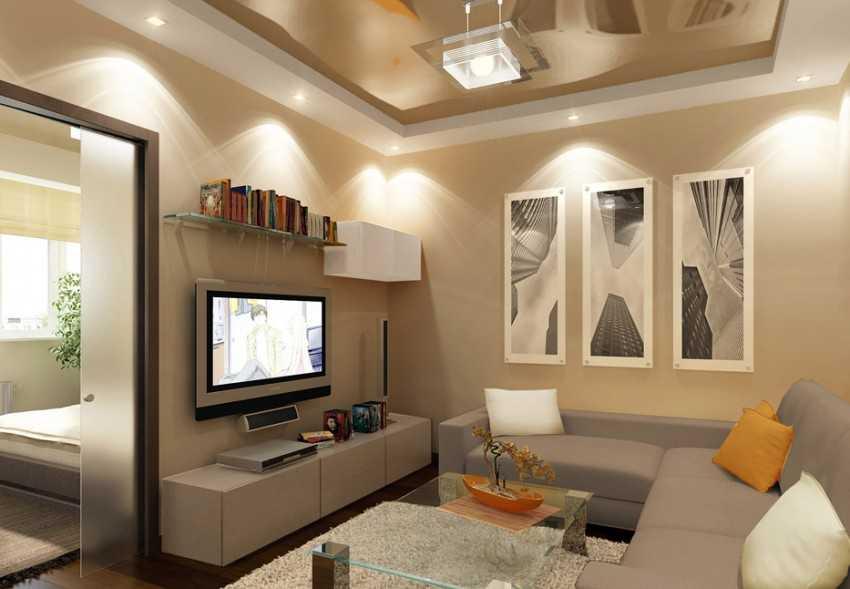 Освещение в гостиной: как правильно его спроектировать? (68 фото) | дизайн и интерьер