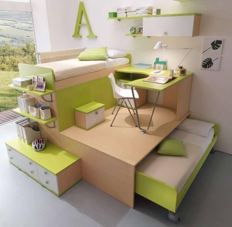 Подиум в комнате - экономия пространства и оригинальный дизайн. делаем своими руками.