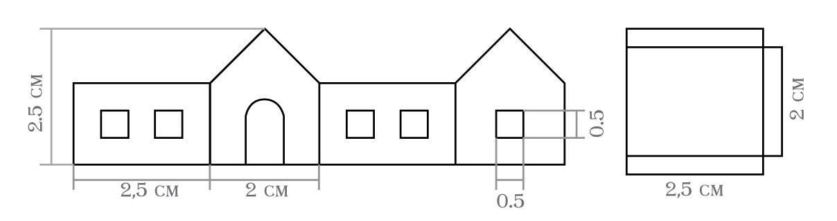Домик из картона своими руками: пошаговое фото, чертежи и схемы
