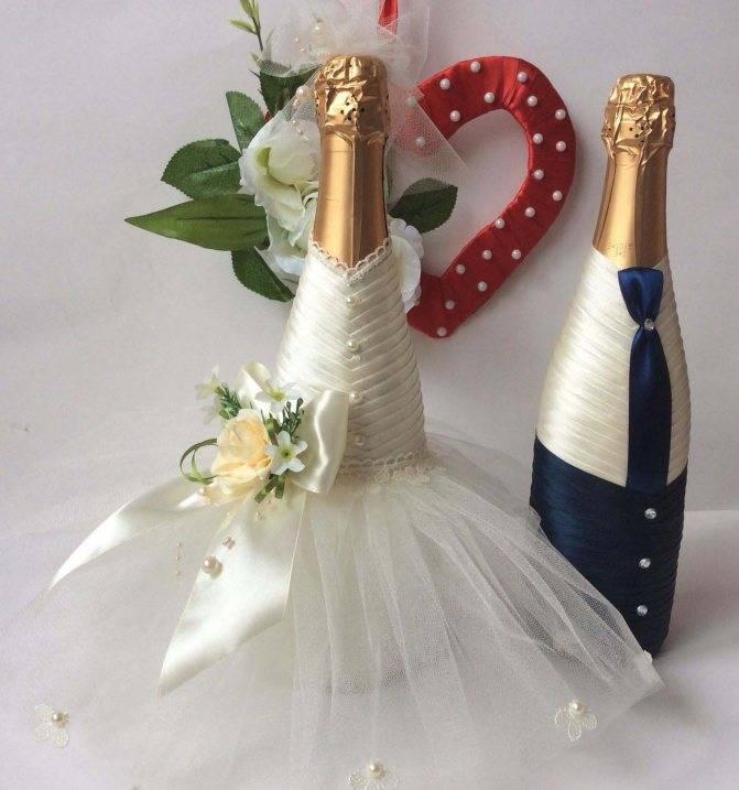 Свадебные бокалы своими руками: топ - 50 идей и мастер-классы с фото