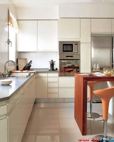 Дизайн угловой кухни: 70+ фото реальных интерьеров