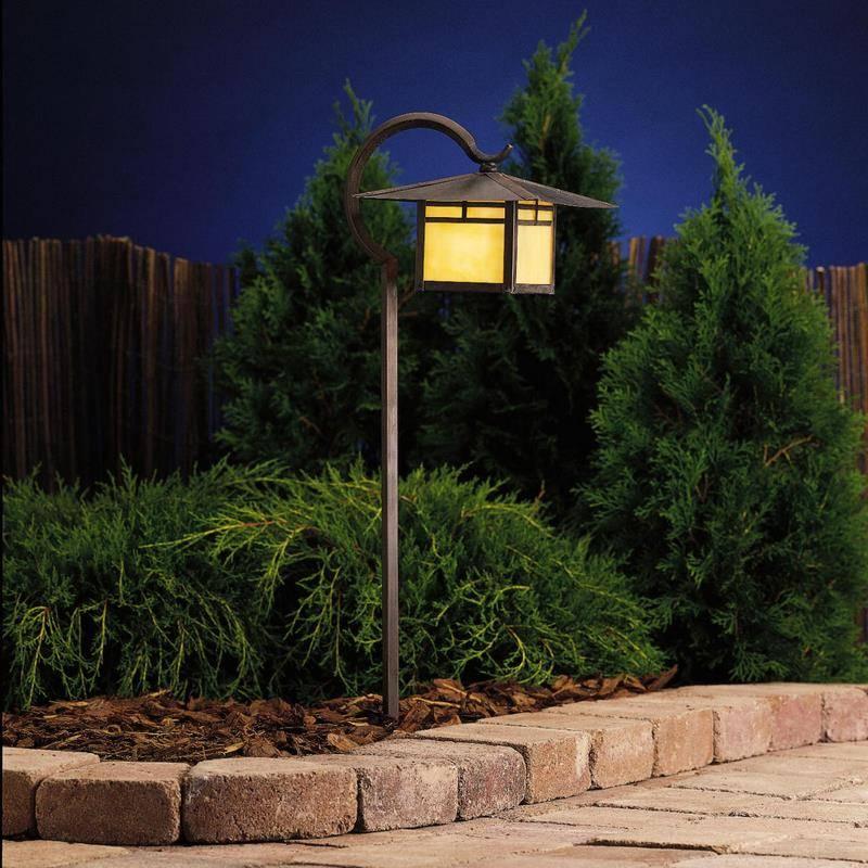 Как сделать освещение дачного участка: виды, выбор светильников