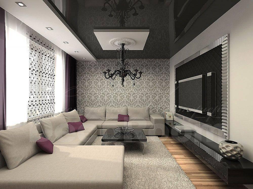 Гостиная 20 кв. м. 75 фото интерьеров с кухней, спальней, детской